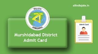 Murshidabad District Sahayak Admit Card
