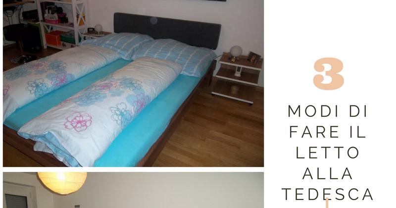Modi di fare il letto alla tedesca wanesia - A letto con mia madre ...