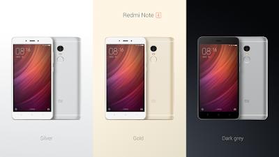 مواصفات هاتف XIAOMI Redmi Note 4