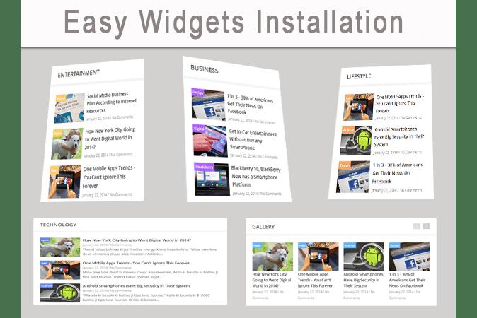 widget blogger template