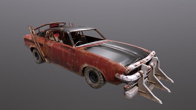 scarica gratis questo modello 3D - Battle Car War 20