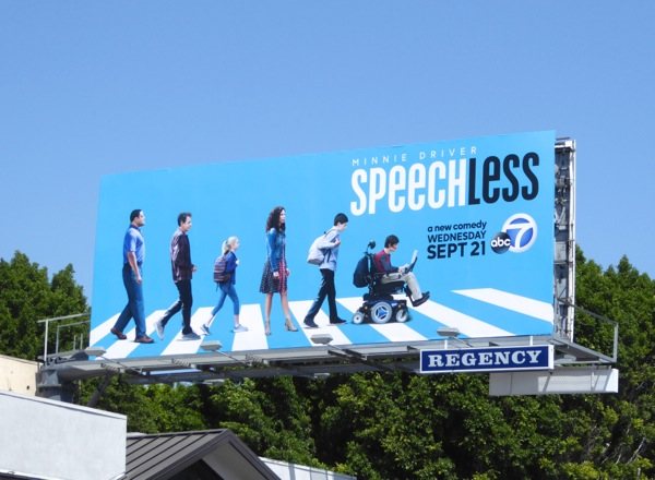 Speechless series premiere billboard