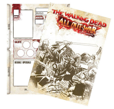 The Walking Dead: all out war, la carta editabile