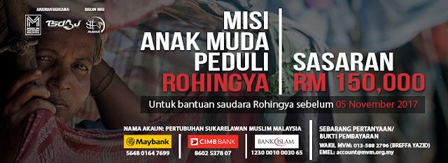 Infaq Jumaat Rohingya - RM20 Untuk 1 Slot