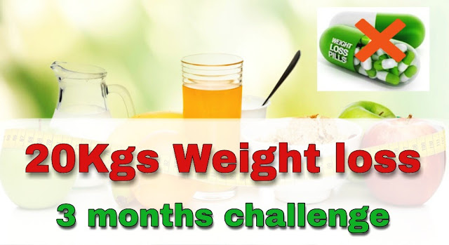 Natural weight loss in three months