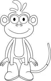 Immagini di scimmie da colorare for Immagini da colorare aristogatti