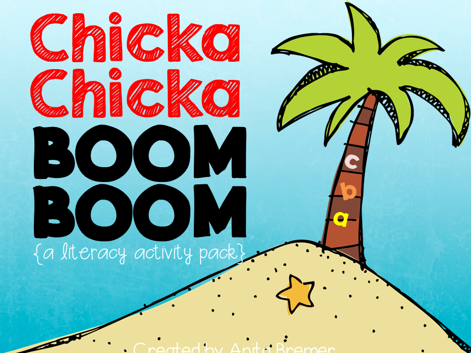 Chicka Chicka Boom Boom literacy centers for Kindergarten! Tons of hands-on alphabet practice to go with the book.