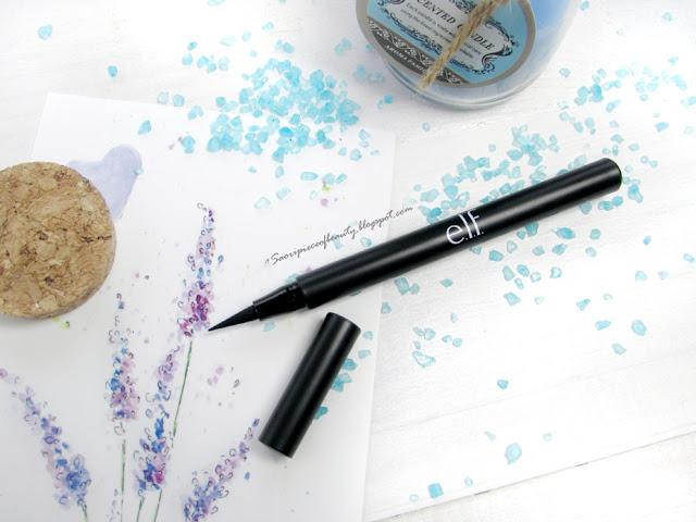 Подводка-фломастер Intense Ink Eyeliner от E.L.F. / блог A piece of beauty