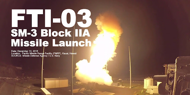 Shore-based SM-3 Block IIA Successfully Intercepts a Ballistic Missile
