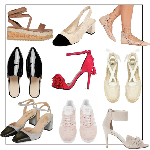 Summer Edit 'The Shoe List' on Laura Rebecca Smith Fashion Blog