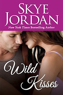 romance novel cover, contemporary romance, Wild Kisses by Skye Jordan