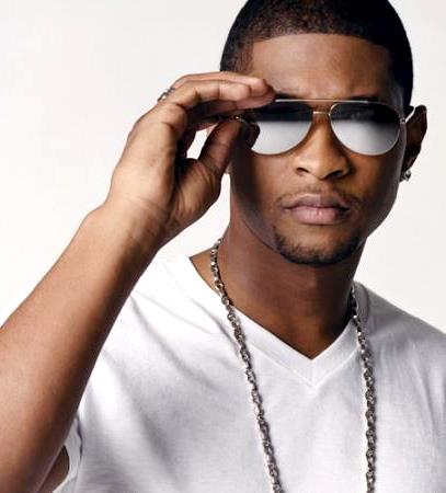 Foto de Usher con lentes