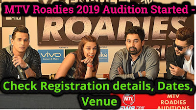 MTV Roadies 2019 Audition