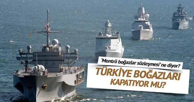 """""""Βόμβα""""! Η Τουρκία θα κλείσει τα Στενά!!!"""