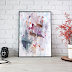 ↣ FREE Watercolor - Mix Media Abstract Art