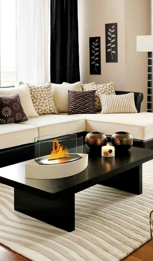 modern living room decor idea