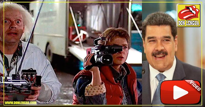 Nicolás Maduro asegura que tiene la capacidad de viajar al futuro