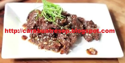 Foto Beef Bulgogi Korean Recipe 100% halal Asli Enak