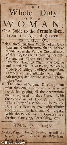 A Literary History of Women's Writing in Britain, 1660