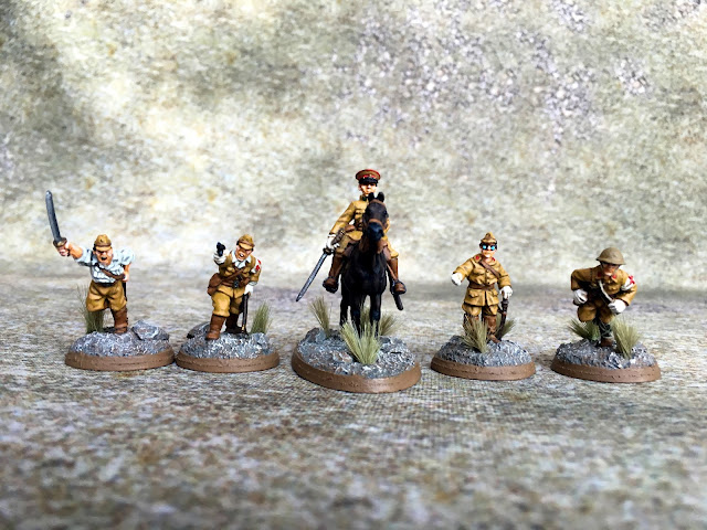 Warlord Games 28mm Japanese Command for Bolt Action