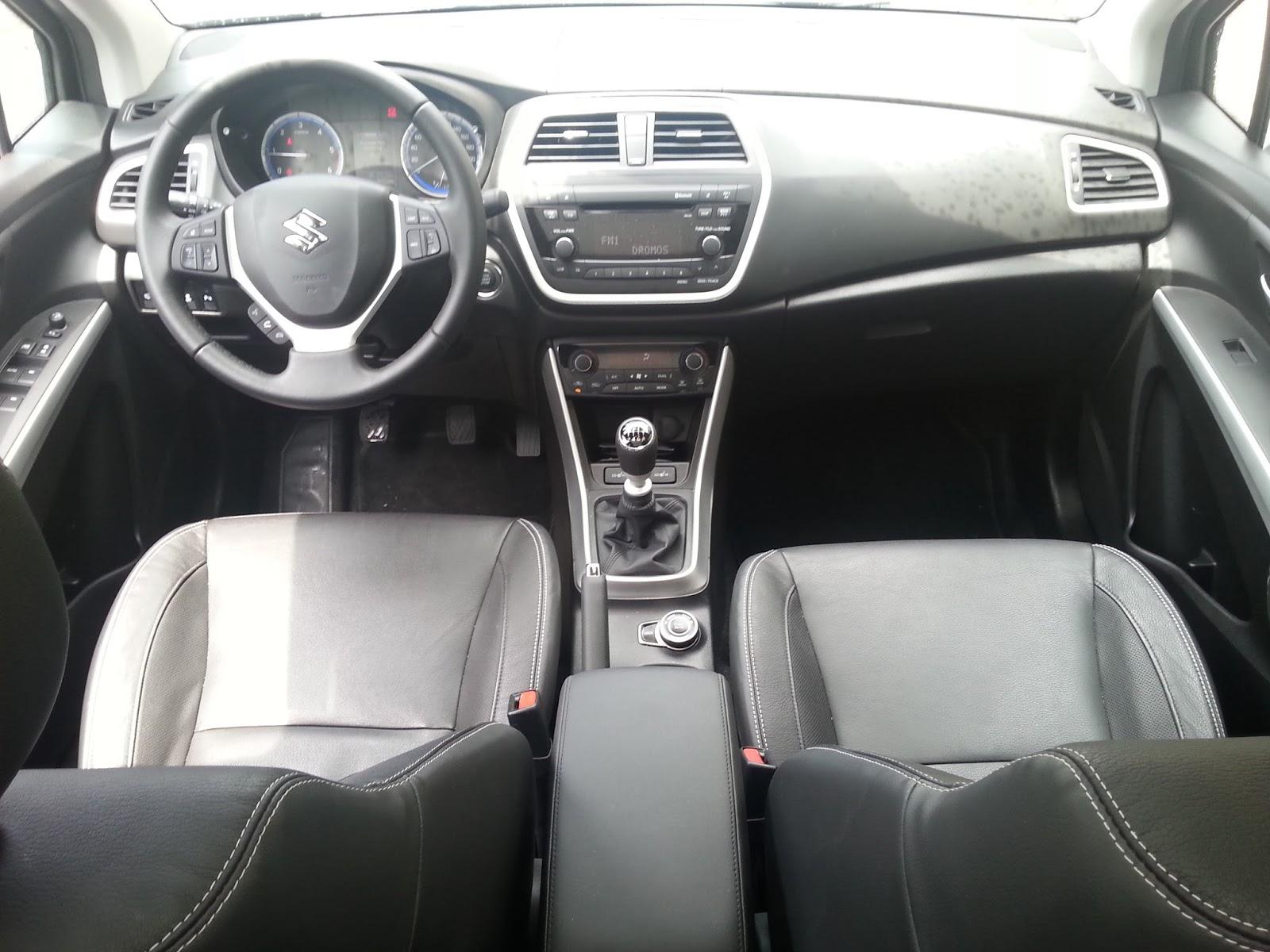f3 Οδηγούμε το Suzuki SX4-S-Cross 1,6 diesel 4X4 Suzuki, Suzuki S-Cross, Suzuki SX4 S-Cross, TEST, ΔΟΚΙΜΕΣ