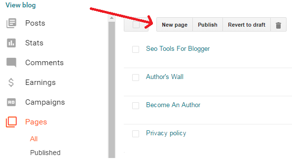 how-to-create-page-in-blogger