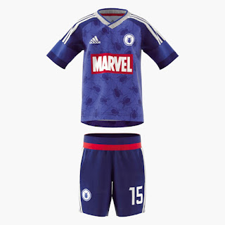 Adidas Marvel Iron Man, Hulk, Spider-Man 2018 Kits - Dream League Soccer Kits
