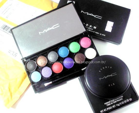 Comprinhas | Paleta 12 cores e Studio Fix MAC