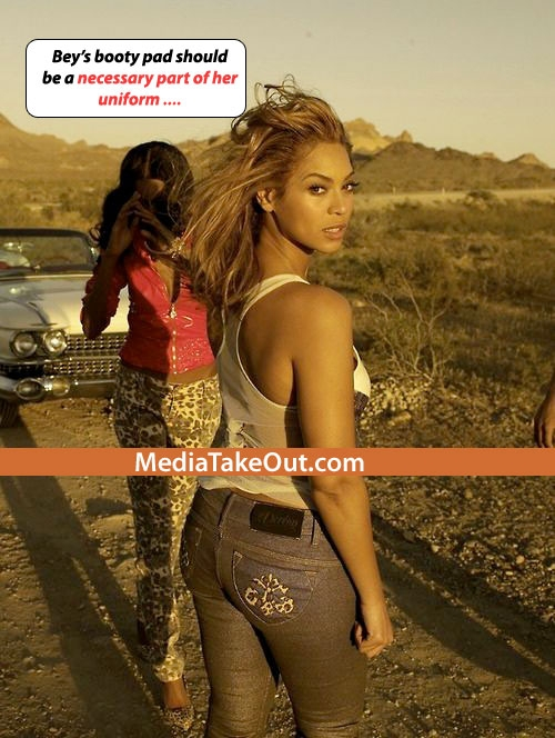 Is Beyonce S Butt Real 19