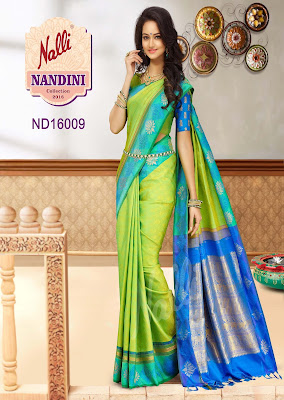 Nalli Latest Silk Nandini Sarees