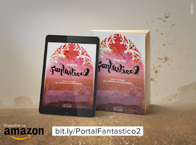 Portal Fantástico vol. 2: em Ebook e Paper Back na Amazon!