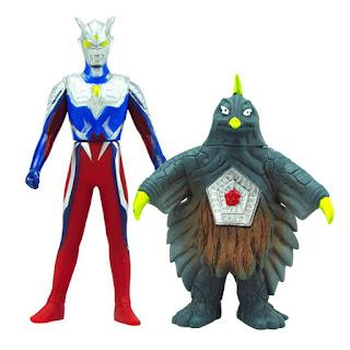 Ultraman Zero vs Bemstar Toys Figure