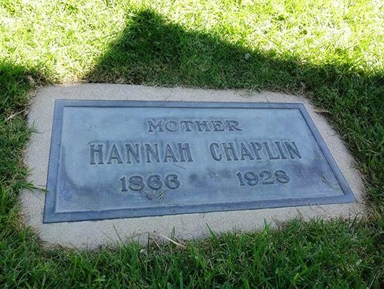 Hollywood Forever Cemetery Hannah Chaplin