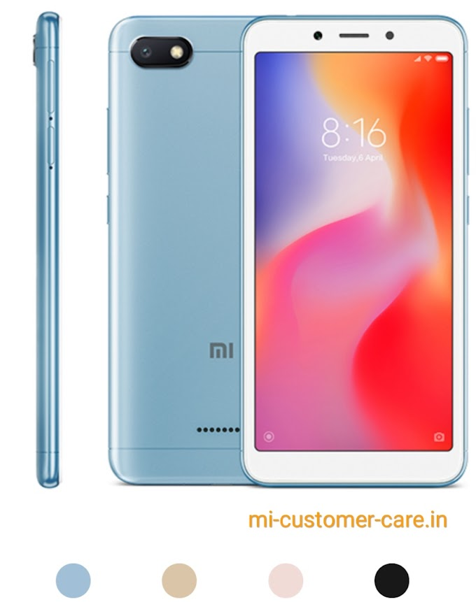 What is the price of Redmi 6a in India?