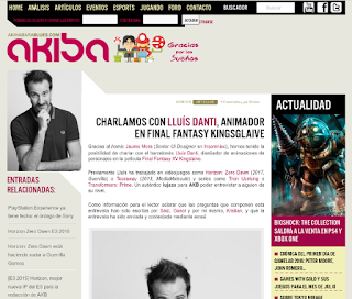 http://akihabarablues.com/entrevista-a-lluis-danti-animador-en-final-fantasy-kingsglaive/