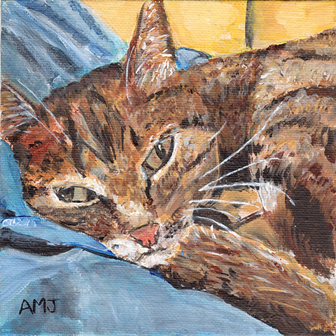 "Chimba 2- 5""x7"" Art card"