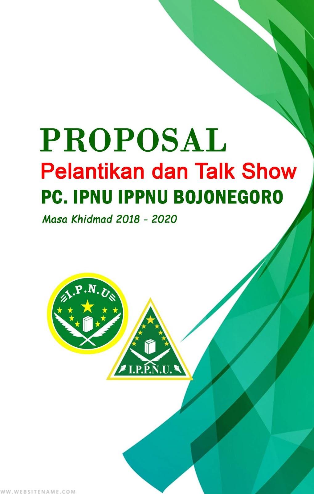 Contoh Proposal Pelantikan Dan Talkshow Ukhti Erlita