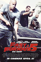 Fast Five 2011 ExTended 720p Dual Audio BluRay With ESubs Download