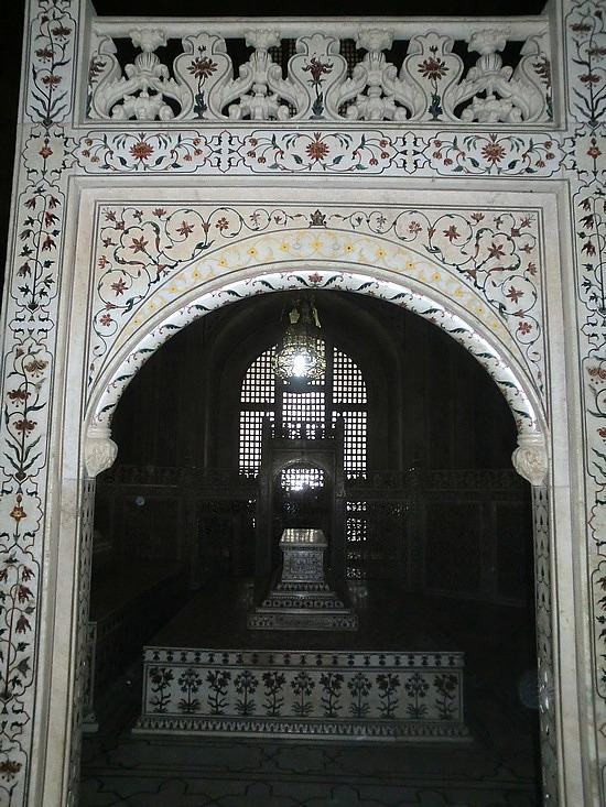 Paisley Curtain Taj Mahal