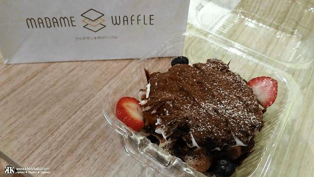 Madame Waffle, 36-Hours Food Trail, Sky Avenue,