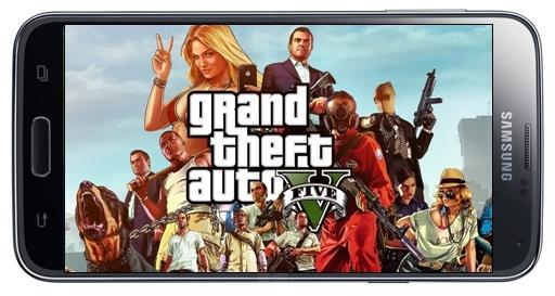 Grand Theft Auto SA Mod GTA V Apk Data Android