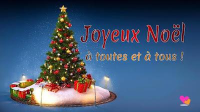 Un très Joyeux Noël à toutes et à tous !