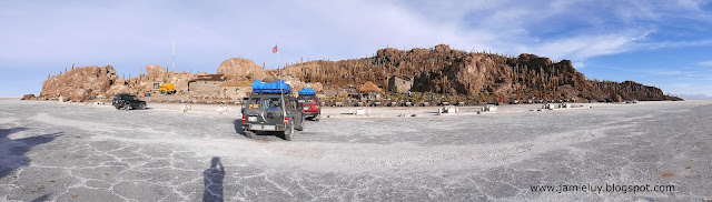 Incahuasi or Fish Island, Uyuni Salt Flats, Bolivia