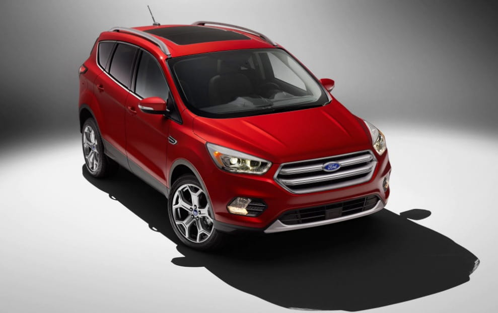 2017 Ford Escape Titanium Specs