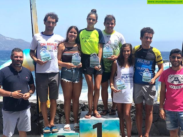 Récord de participación en la II Travesía playas de los Cancajos