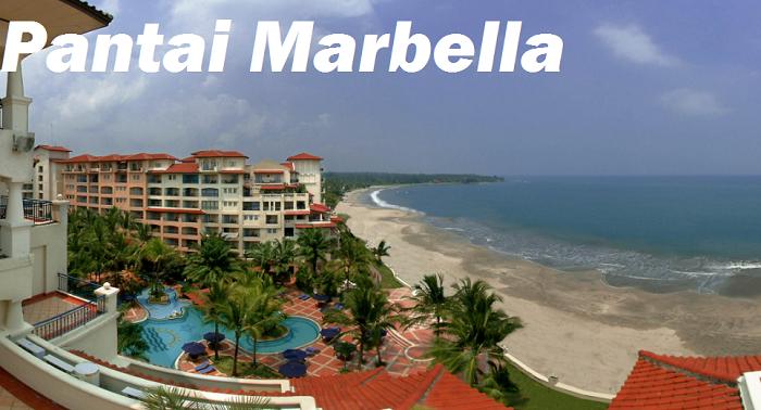 Tempat Wisata di Anyer Banten pantai Marbella