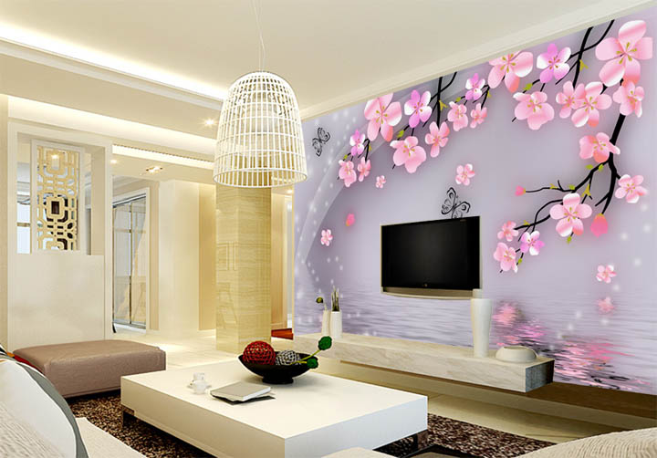 Best Living Room In The World stunning best wallpaper designs for living room contemporary