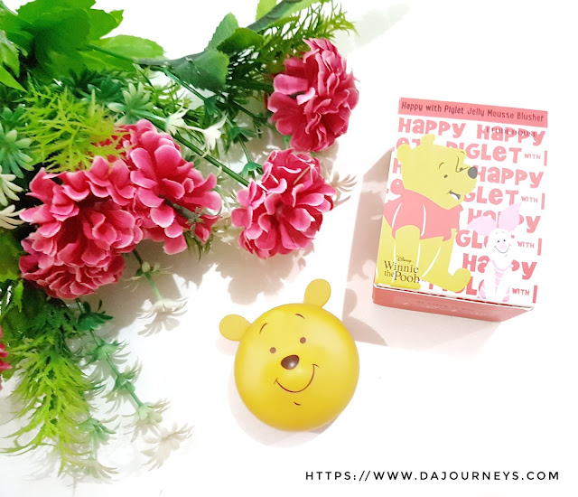 [Review] Happy with Piglet Jelly Mousse Blusher