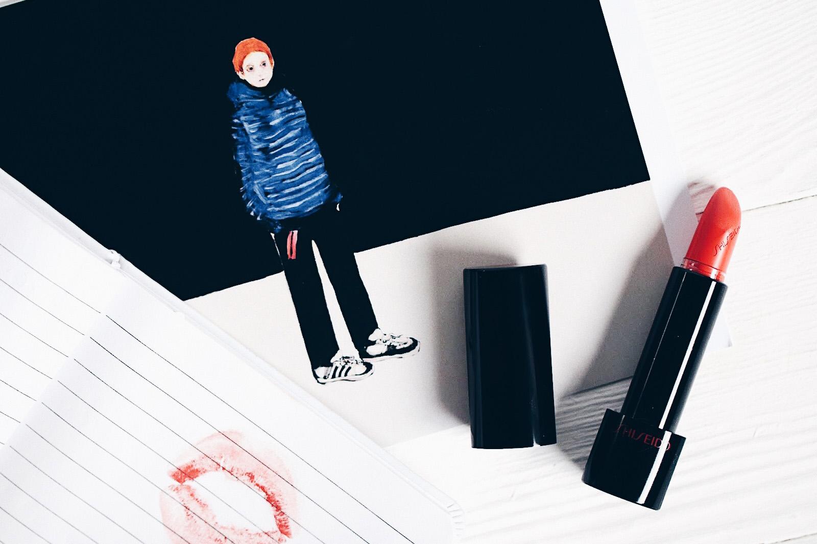 shiseido rouge rouge fini mat avis test swatches teintes