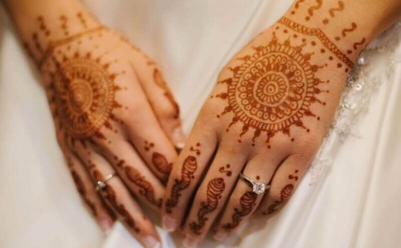 Contoh Motif Henna Pengantin Henna Wedding Beautiful Sirania Xyz